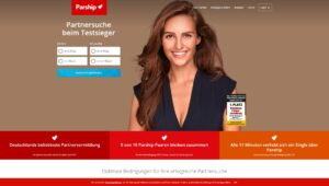 Parship.de screenshot - Singlebörsen