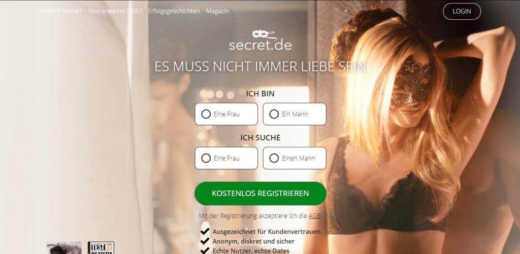 Secret - Screenshot - - übersicht über Casual-Dating-Seiten