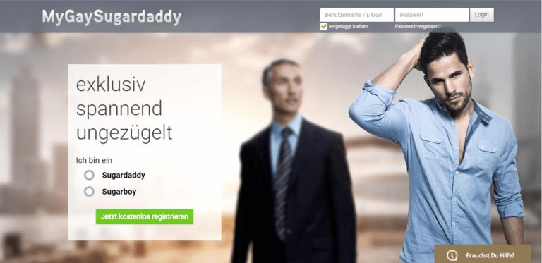 MyGaySugardaddy - übersicht über sugar-dating-portale screen