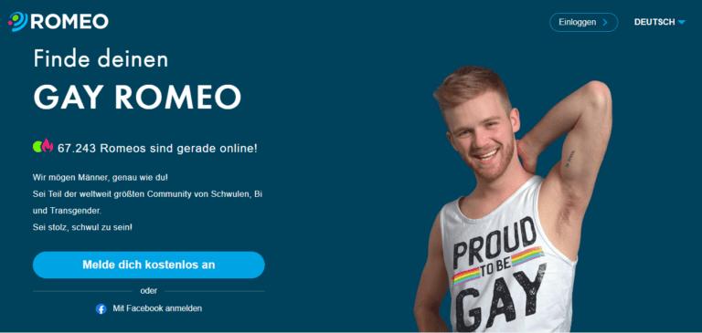 PlanetRomeo - Gaydating guide - Screenshot