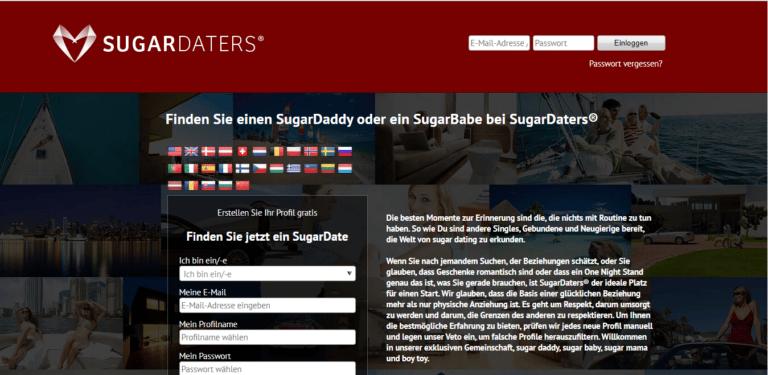Sugardaters - Übersicht Sugar-Dating-Portale screen