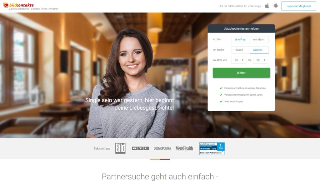 Kostenlose dating-sites ohne bezahlung