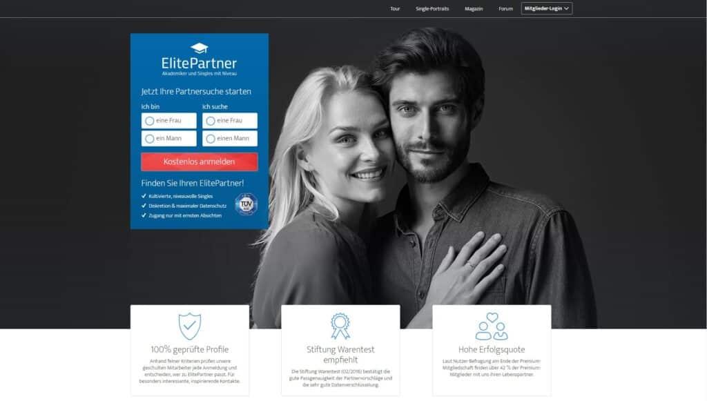 ElitePartner - Dating seiten ab 40
