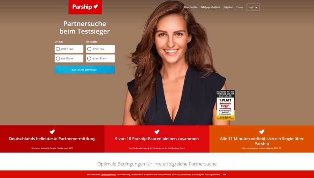 Parship - Partnervermittlungen