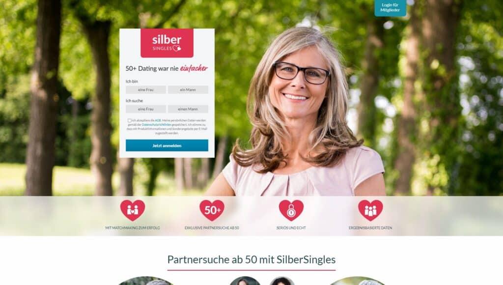 Silber Singles - Partnerbörse