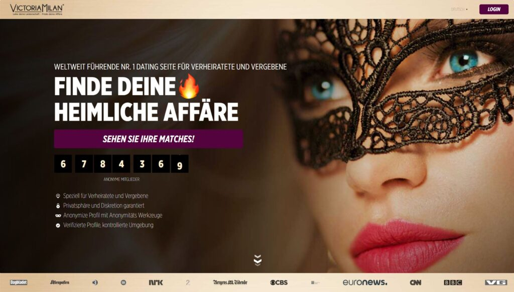 Victoria Milan - De besten Casual Dating Seiten