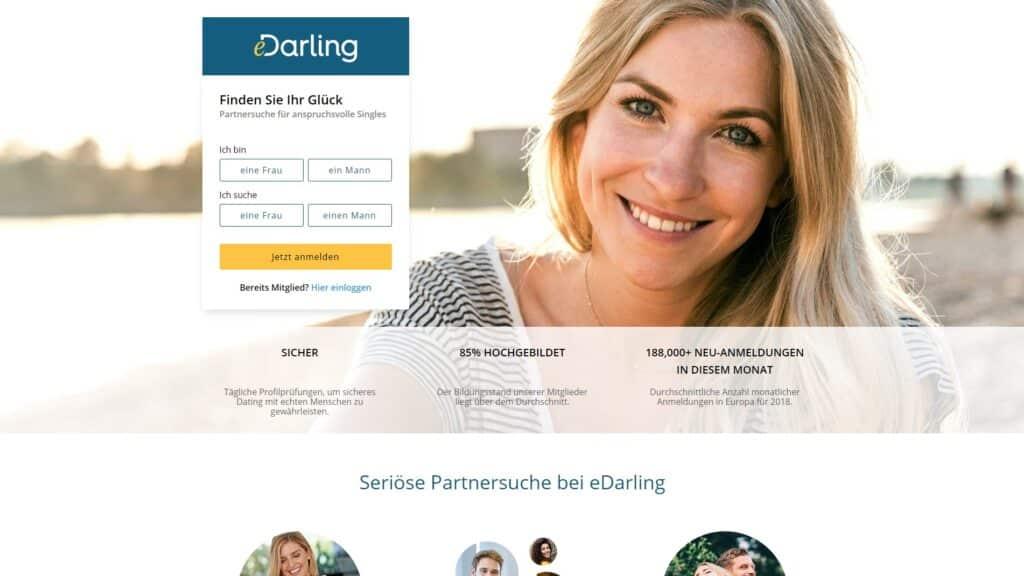 eDarling - Seriöse Partnerbörsen