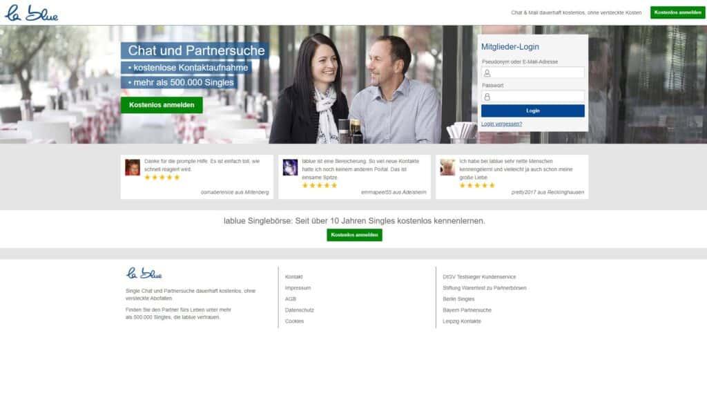 lablue screenshot - Kostenlos Singlebörse