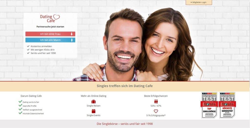 DatingCafe - Screenshot
