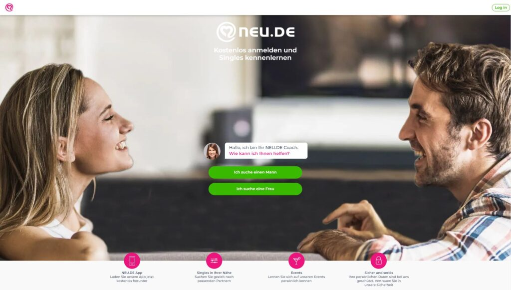 Neu.de screenshot