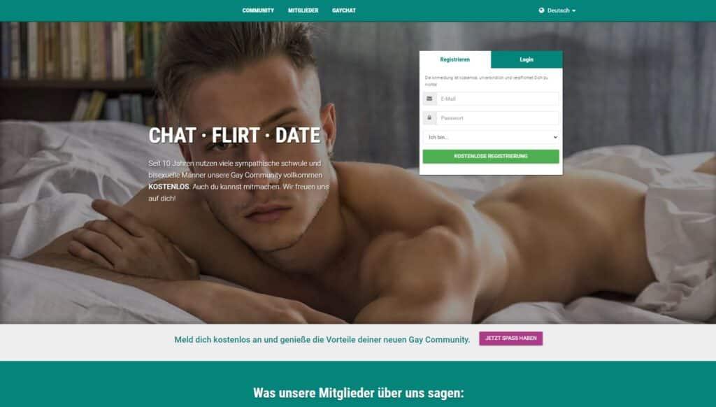 Gay.de screenshot